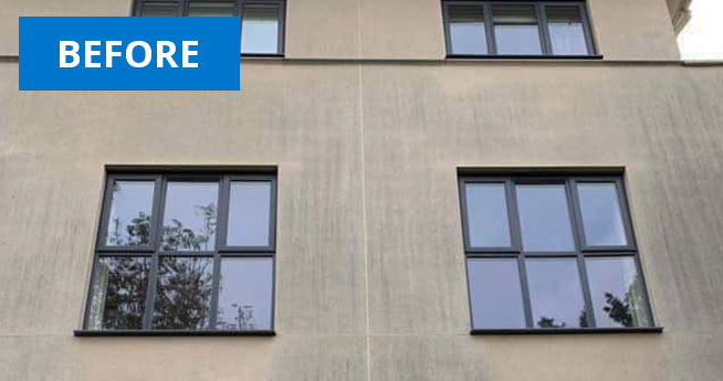 K Rend Render Cladding Cleaning Services Before Facilities Management Cleaning